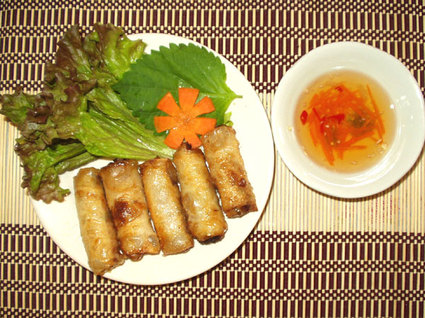 Recette de pâtés impériaux vietnamiens
