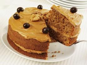 Gâteau au café et aux noix pour 8 personnes
