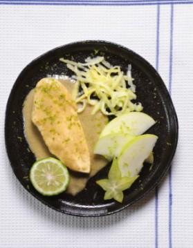Curry vert de volaille pour 4 personnes