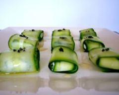 Recette sushis verts au chèvre frais