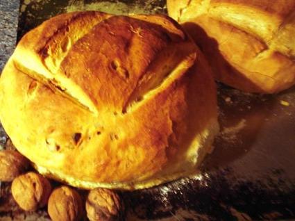 Recette de pain aux noix