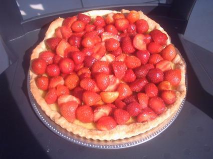 Recette de tarte aux fraises simple et rapide