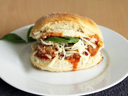 Recette de sandwich aux boulettes de viande