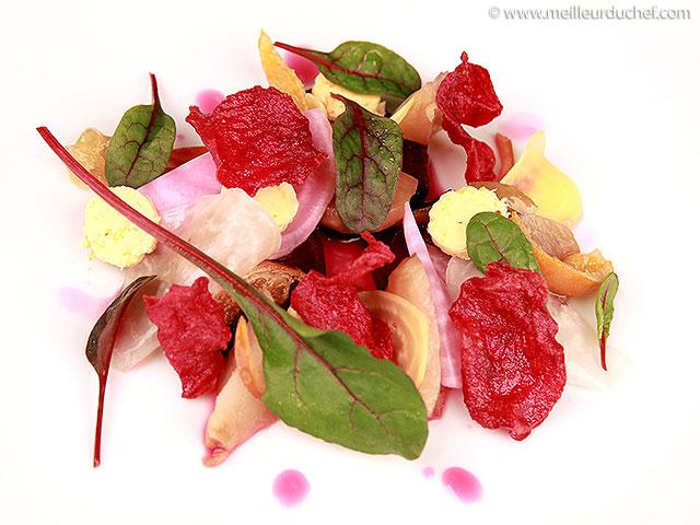 Salade de betteraves et agrumes confits  fiche recette ...