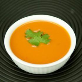Velouté froid à la tomate épicée pour 4 personnes