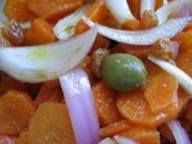 Salade de carotte à l'orange et aux épices pour 4 personnes ...