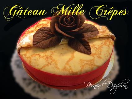 Recette de gâteau mille crêpes