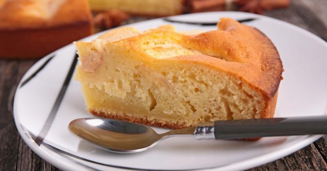 Recette de gâteau au yaourt allégé aux pommes