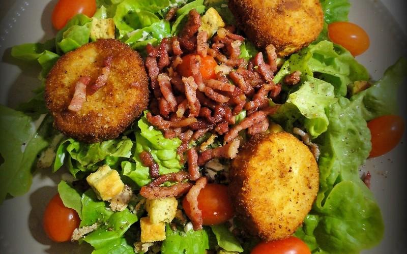 Recette salade de chèvre pané aux noisettes pas chère et express ...