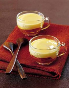 Orange sanguine au miel, crème à la vanille pour 8 personnes ...