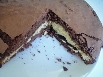 Recette de gâteau aux deux chocolats et aux noisettes