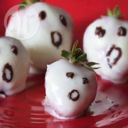 Recette fraises fantôme au chocolat blanc – toutes les recettes ...