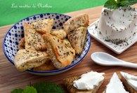 Recette de pains pita grillés à l'huile d'olive et aux herbes grecques ...