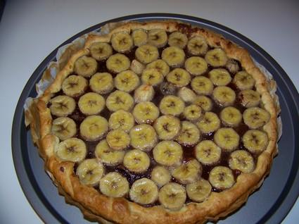 Recette de tarte nutella/banane simple et rapide
