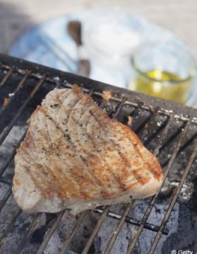 Thon grillé, sauce aux câpres pour 4 personnes