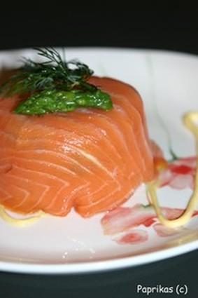Recette de charlotte aux deux saumons