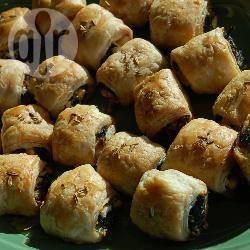 Recette mini feuilletés aux épinards et à la féta – toutes les recettes ...