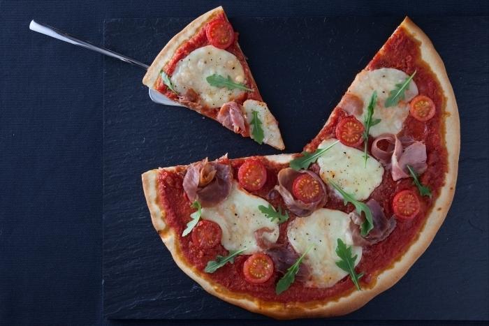 Recette de pizza san daniele facile et rapide