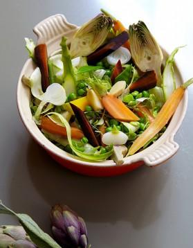 Cocotte de légumes du printemps pour 4 personnes