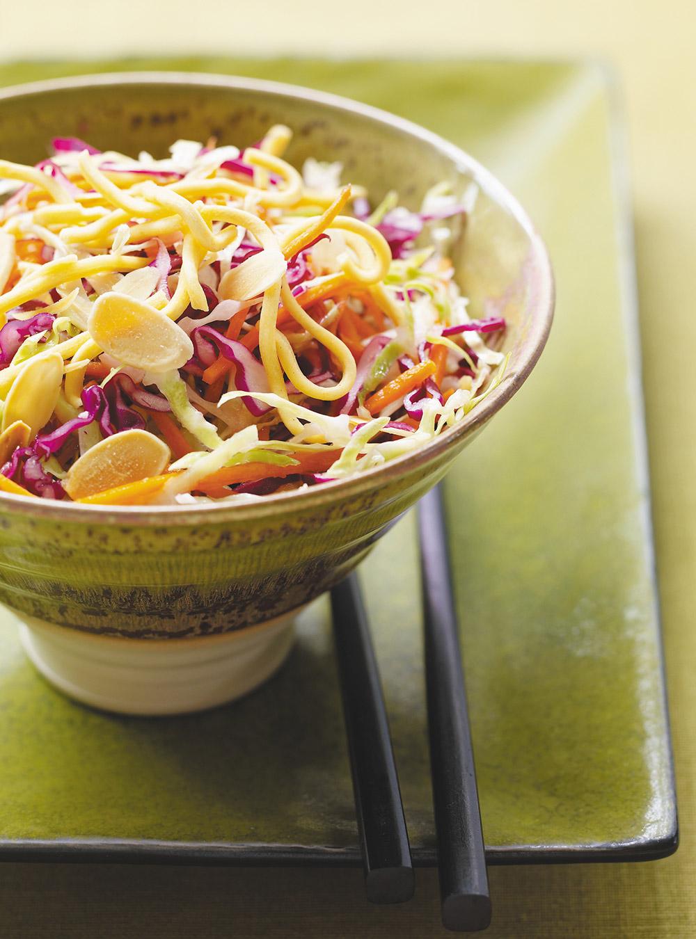 Salade de chou croustillante à l'asiatique | ricardo