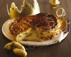 Recette galette des rois salée à la pomme de terre