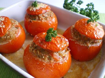 Recette de tomates farcies maison