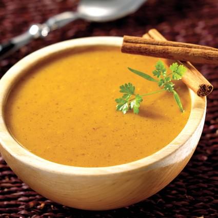 Recette de velouté de carottes aux épices et tapioca tipiak®