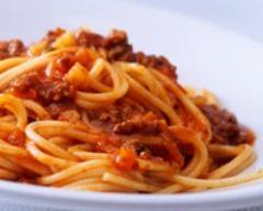 Recette spaghettis à la bolognaise allégées