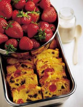 Cake aux fruits confits-2 pour 4 personnes