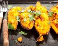 Patates douces farcies   cuisine az