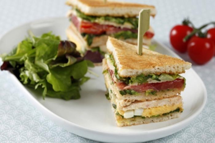 Recette de club sandwich façon palace facile et rapide