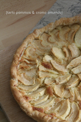 Recette de tarte aux pommes et à la crème d'amande