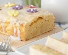 Recette gâteau aux yaourts citronnés