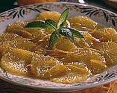 Recette salade d'oranges à l'orientale