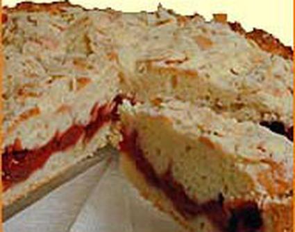 Recette de gâteau aux cerises et amandes