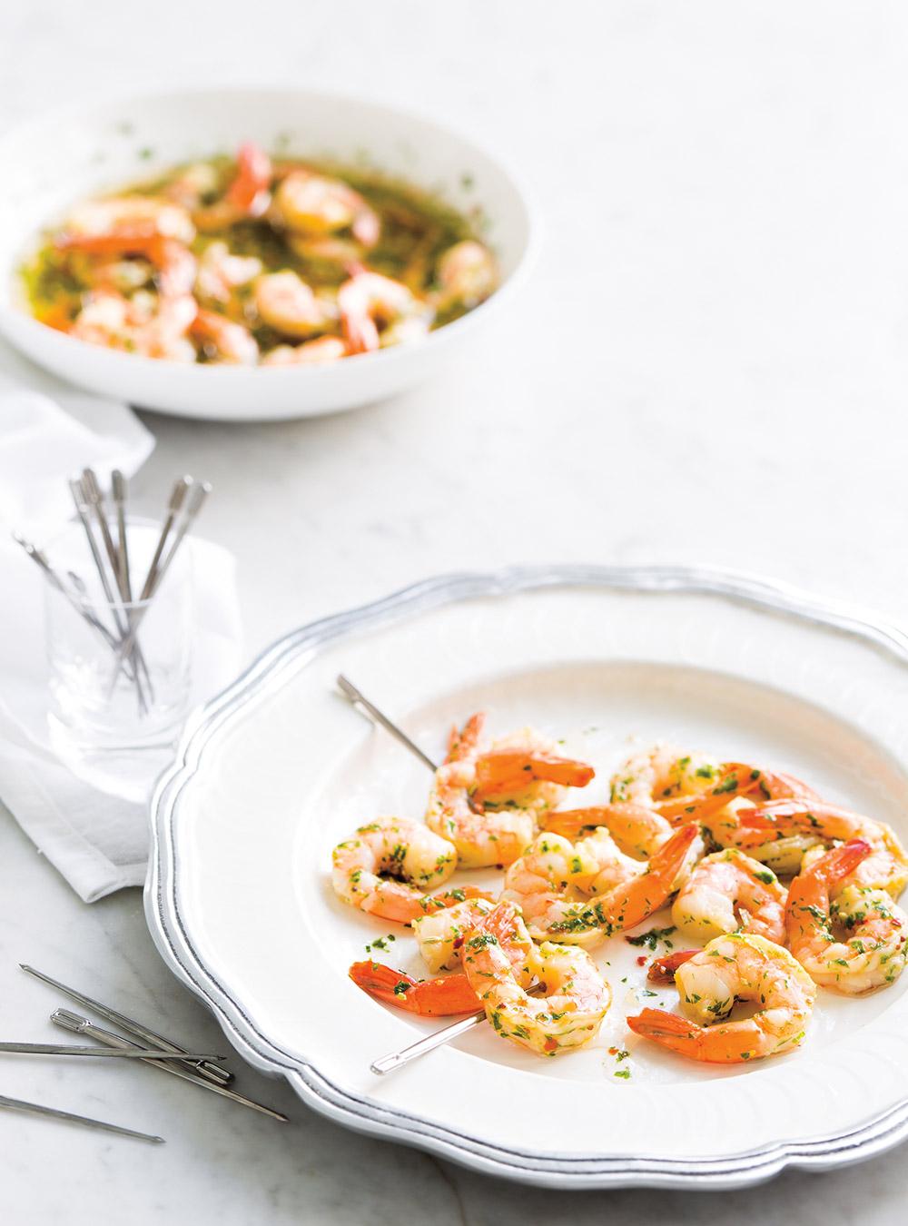 Crevettes marinées | ricardo