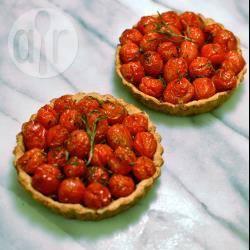 Recette tartelettes aux tomates cerise, romarin et parmesan ...