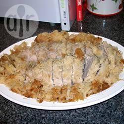 Recette rôti de porc à la choucroute et aux pommes – toutes les ...