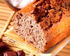 Recette cake chocolat noix de coco
