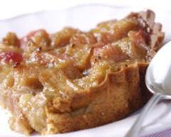 Recette tarte à la rhubarbe et à la poudre d'amandes