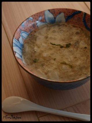 Recette de bouillon japonisant