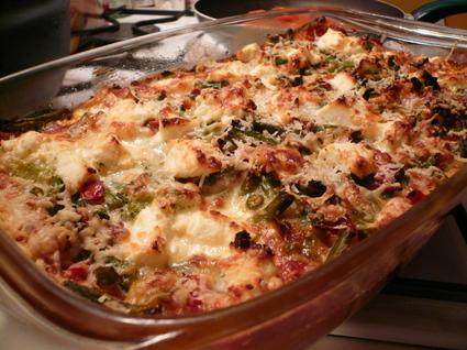 Recette de lasagnes de légumes et ricotta