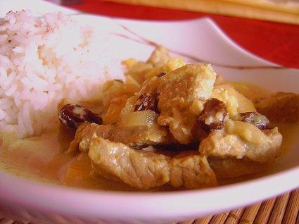 Recette de curry de veau