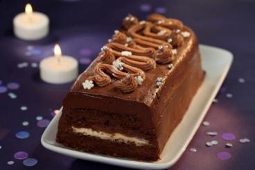 Recette de la bûche de noël au chocolat