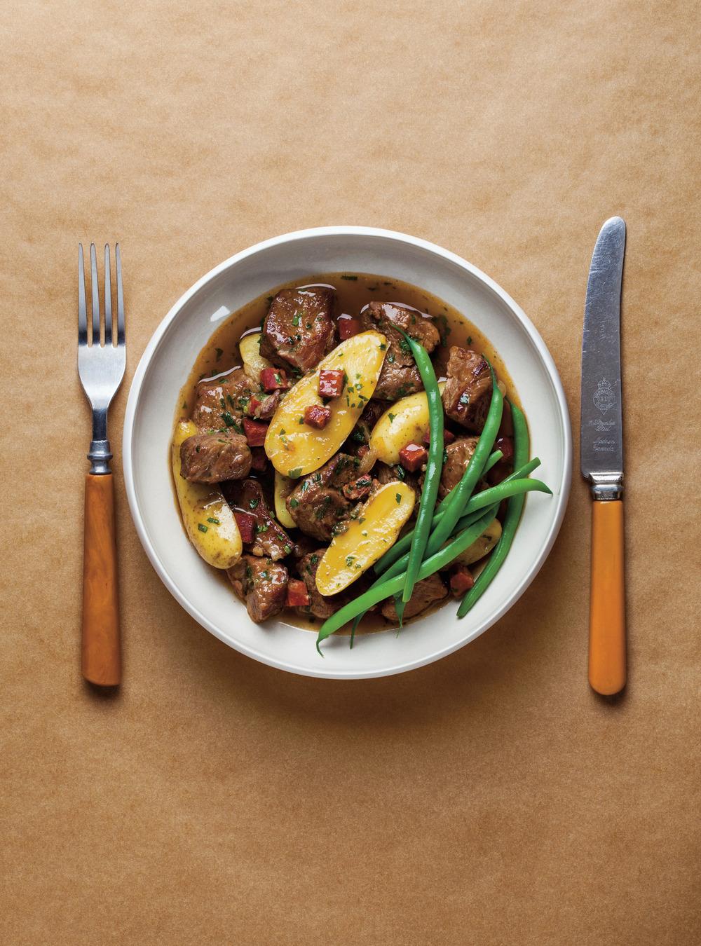 Veau braisé au marsala et aux pommes de terre   ricardo