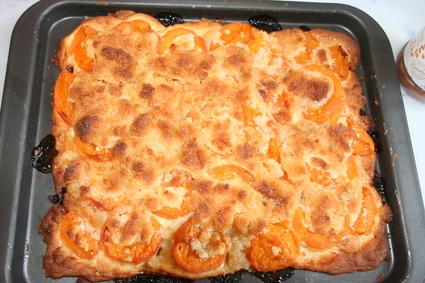 Recette de tarte aux abricots façon crumble