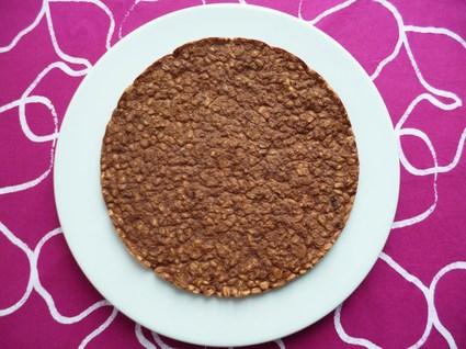 Recette de pancake xxl végan hyperprotéiné chocolat-blé complet ...