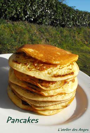 Recette de pancakes pour petit-déjeuner