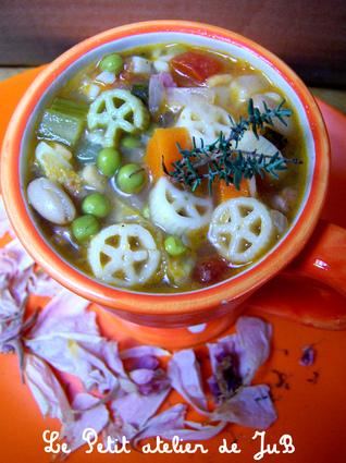 Recette de minestrone d'automne