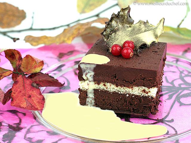 Marquise au chocolat  fiche recette illustrée  meilleurduchef.com